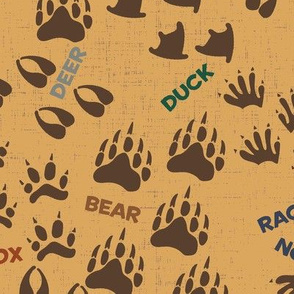 Wilderness Paw Prints