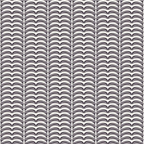 Hand drawn folk art Christmas stripes pattern.
