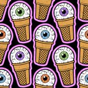 Eye Scream Ice Cream Cones