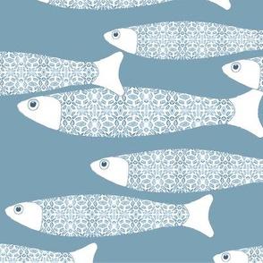 003-300919 pale grey fish panel