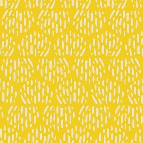 Butter Scandi Half Moon Texture Fat Eighth // Bright + Playful Color with Geometric Nature Motifs // Modern Quilting Collection // Small Scale // ZirkusDesign
