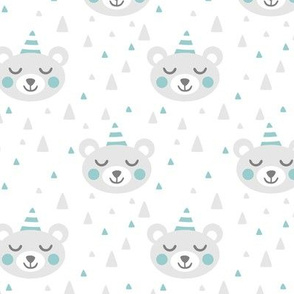 Party Bears Blue Grey