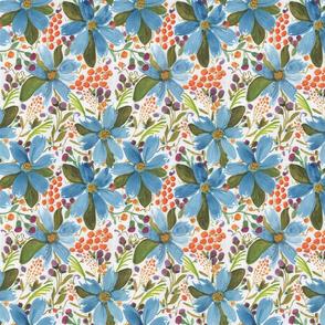 Floral Delight Blue