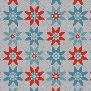 Flowers Faint Quilting