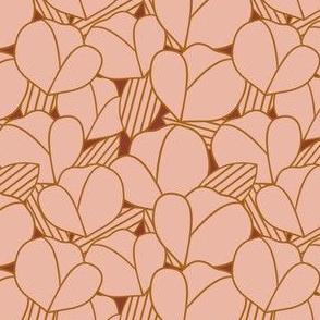 Roarin' Florals in Rust