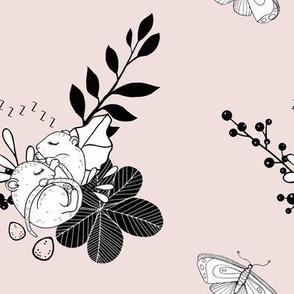 1288 Woodland Friends Ink - Sleeping Mice 2 powder