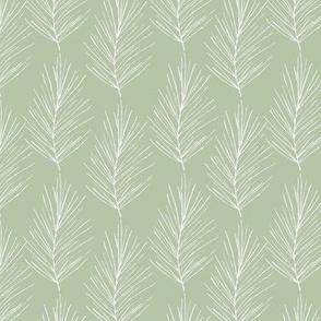 Vintage Christmas Pines