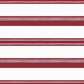 Vintage Christmas Stripes