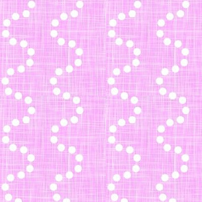 polka dot waves on soft pink texture