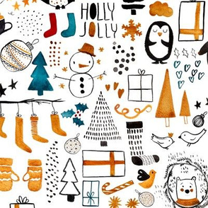 Nordic Christmas // White