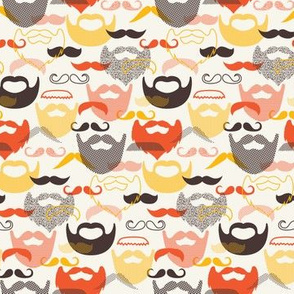 ModStache and Beards - Very Small