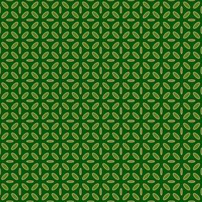 ellipse green beige