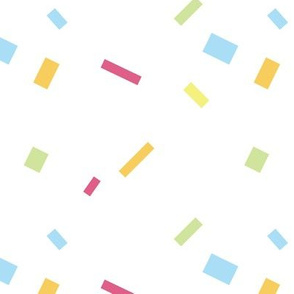 Party On Confetti Pattern - Wide spacing