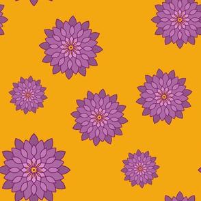Mandala, Blumen, M018