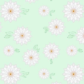 flower, mandala, M033