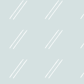 Line Drop Skinny / Slate Blue Gray