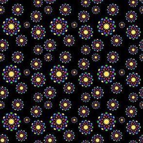Circles, colorful M035