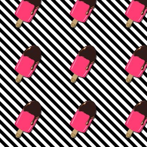 Ice Cream on High Contrast Strips