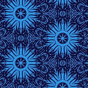 Starbursts of Summer Daze Blue on Blackberry