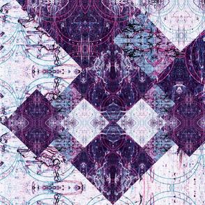 Bohemian Quilt Diamond Pattern