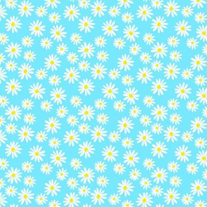 Daisy Summer Sea Foam Ditsy