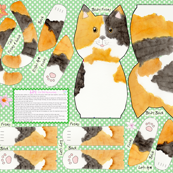 Lily  Cut and Sew Cat Doll