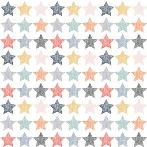 Colorful Stars, Distressed