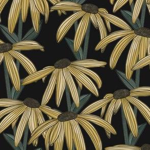 Dark Daisy (Yellow)