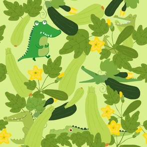 Crocodiles and zucchinis