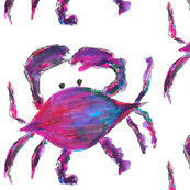 purple crabs -large
