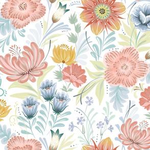 Folksy Floral #2