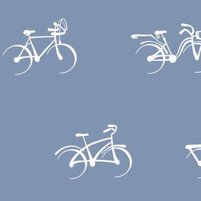 Little Vintage Bikes | Soft Wedgewood Blue
