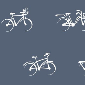 Little Vintage Bikes | Deep Blue Gray