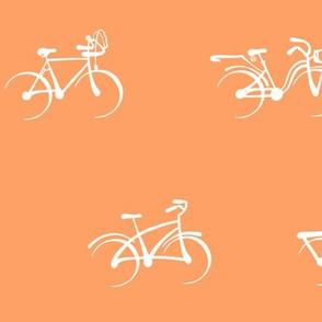 Little Vintage Bikes   Light Apricot