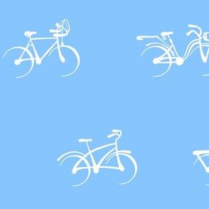 Little Vintage Bikes | Pale Blue
