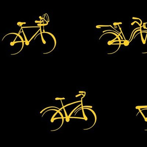 Little Vintage Bikes   Yellow