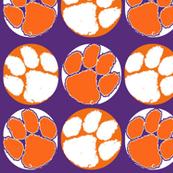 Clemson Tigers paw