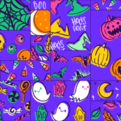Spooky Cheater Quilt