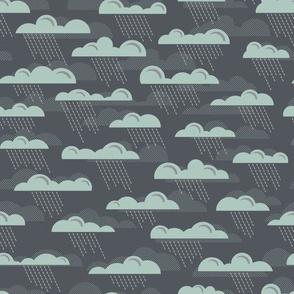 Rain Storm in Slate