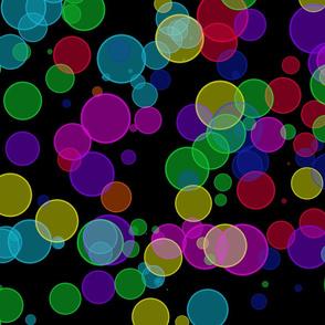 Rainbow dots, M053, 102 Punkte