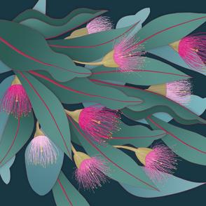 Flowering Gum Cheater Quilt