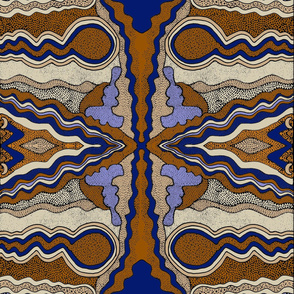 Tribal Snakes26x38