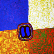 Southwest Abstract Color Blocks - 26x38