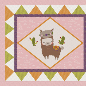Baby Alpaca Quilt