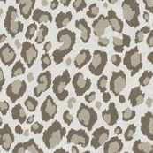 Leopard in Beige Grey Taupe