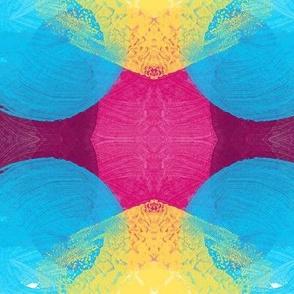 Painterly Kaleidoscope Ginghams