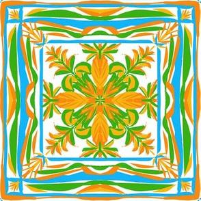 Summery Farmhouse  Floral Quilt