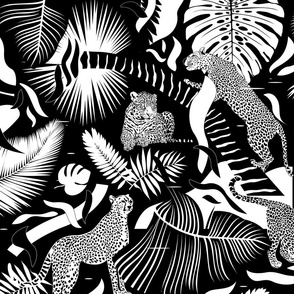 Surreal Wildlife / Black and White / Big-Scale