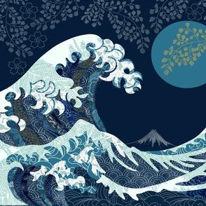 Smaller Version Wave of Kanagawa
