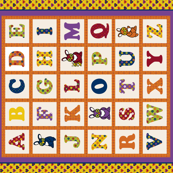 ABC Cheater Quilt